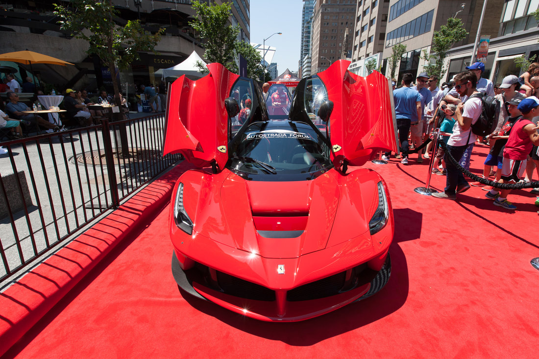 THE YORKVILLE EXOTIC CAR SHOW Home - Ferrari car show